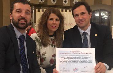 33 Congreso de la Sociedad Andaluza de Angiología y Cirugía Vascular: Premio a la mejor comunicación en terapéutica vascular